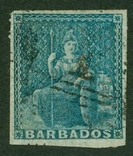 Cats Barbadian Stamps (1966-Now)