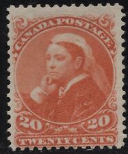 Canada 46 20c vermilion Small Queen of 1893 MNG