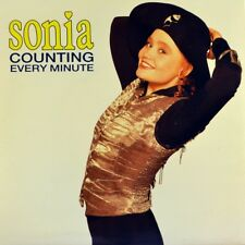 "7"" SONIA Counting Every Minute STOCK/AITKEN/WATERMAN CHRYSALIS UK 1990 like NEW!"