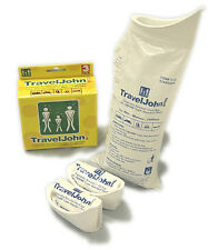 Traveljohn Disposable Unisex Portable Urinal - Pack of 3