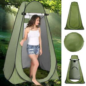 Hot Pop-Up Duschzelt Toilettenzelt Umkleidezelt Camping Zelt Beistellzelt Grün