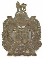 cWW1 KINGS OWN SCOTTISH BORDERERS LARGE BADGE.