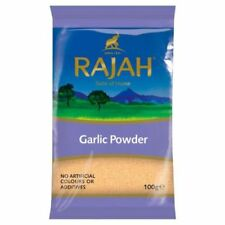 Rajah Ground Garlic powder 100g  Indian, Chinese, food spice seasoning for curry