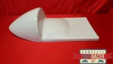 MANX NORTON WIDELINE STYLE FIBREGLASS CAFE RACER SEAT FINISHED IN WHITE