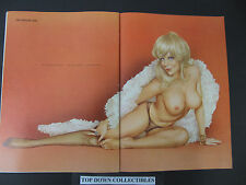 Vargas Double Pin Up  Magazine Art Print     Your Place & My Place---