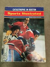 FM2-8 Sports Illustrated Magazine 4-26-1971 Canadiens Bruins Hockey