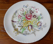 "VINTAGE WINDSOR WARE JOHNSON BROS.GARDEN BOUQUET 9 3/4"" PLATE"