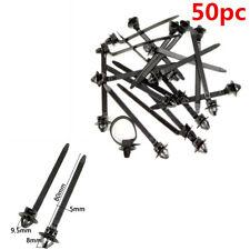 50 STÜCKE Universal Auto Nylon Krawatte Wrap Kabel Fasteners Clips Zip Strap