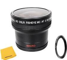 0.16x Fisheye Lens for Canon SX70 SX60 SX50 SX40 SX30 SX540 SX520 SX510 HS