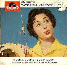 "7"" Caterina Valente & Silvio Francesco – EP: Encore // Germany 1959"