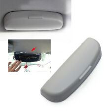 Grey Car Auto Interior Roof Sunglasses Holder Storage Clip Case Holder Stand Box