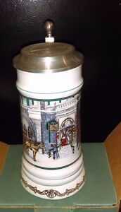 MILLER HOLIDAY COLLECTION SERIES STEINS - THE MILLER INN - 1992