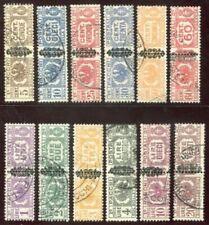 Francobolli della Repubblica Sociale Italiana (RSI) e Luogotenenza pacco postale