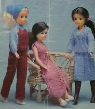 KNITTING PATTERN for Sindy Dolls cloths 4Ply 13077