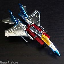 Extremely Rare 3rd Party Custom Made WST Color Chrome G1 Starscream