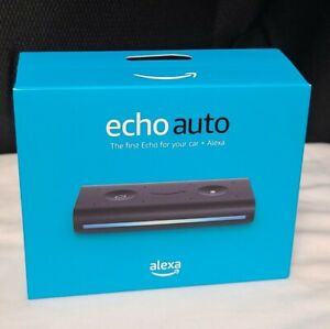 Amazon Echo Auto Smart Assistant - Black, NEW BP39CN