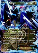Carte Pokemon DIALGA EX - Ultra Rare - 65/101 - Noir et Blanc Fr NEUF