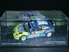 ALTAYA 1/43 : FORD FOCUS WRC 07 - Abu Dhabi - GRONHOLM - RALLY NEW ZEALAND 2007