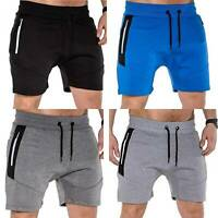 Mens Sweatshorts Shorts Trousers Gym Sports Jogging Workout Casual Summer Pants