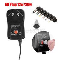 Universal Power Supply AC DC Adapter Converter 30W 3V 4.5V 5V 6V 7.5V 9V 12V AU