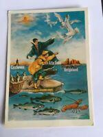 AK Alte Karte Cuxhaven Alte Liebe Helgoland alte Werbung