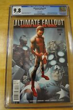 ULTIMATE FALLOUT #4 CGC 9.8 NM/M 2ND PRINTING 1ST APP MILES MORALES 2011 BAGLEY