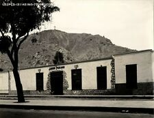 peru, LIMA, Tienda de Baio Cerro (1943) Large 9.4 x 7.8 inch Real Photo