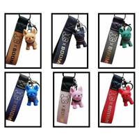 Cute Dog bulldog  Key Chain Gifts Accessories Resin Fashion Jewelry Charm  UK
