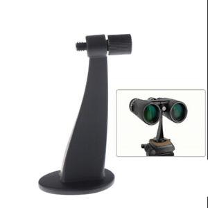 1PC Black Full Metal Adapter Mount Tripod Bracket for Binocular TelesNSJKAU