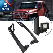 """52inch LED Light Bar Mount Bracket with 4"""" Pod Platform for Jeep Wrangler JK"""