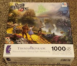 Thomas Kinkade 'The Wizard of Oz' 75th Anniversary Puzzle BRAND NEW SEALED