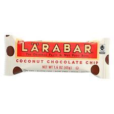 Larabar Fruit and Nut Bar - Coconut Chocolate Chip - 1.6 oz Bars - Box of 16