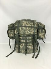 US Army Large Rucksack Frame Shoulder Straps Hip Belt MOLLE II ACU Camo EXC