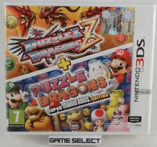 PUZZLE & DRAGONS Z + SUPER MARIO BROS EDITION 3DS 2DS PAL EU EUR ITALIANO NUOVO
