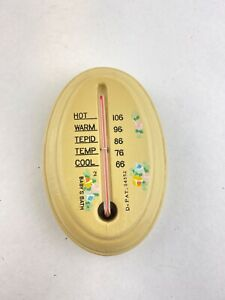 Vintage baby bath thermometer Collectible