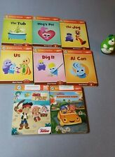 LeapFrog Tag Junior (dog) Reading System 8 Books ,carrying case and reader