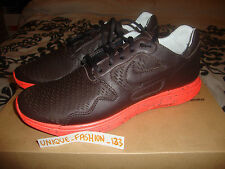 NIKE LUNAR FLOW PRM NRG US 9 UK 8 42.5 BLACK TEA BROWN CRIMSON CACTUS AIR HTM
