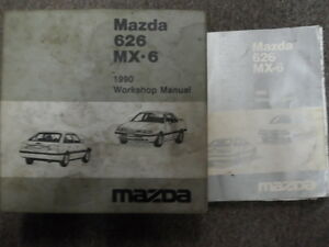Repair Manuals Literature For Mazda Mx 6 For Sale Ebay