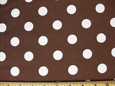 "Polka Dot Fabric yard 36x44 Nickel quarter UPICK color quilting 7/8"" Cotton JAM"