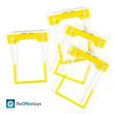 AVERY Tubeclip File Fasteners Yellow, Box 500 (44001Y) FREE Postage
