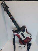 Guitar Hero Red White GH5 Controller Nintendo Wii Band Hero with strap