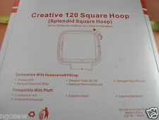 Splendid Square Hoop 120mm PFAFF Creative 2.0/4.0 Vision Performance #412968201