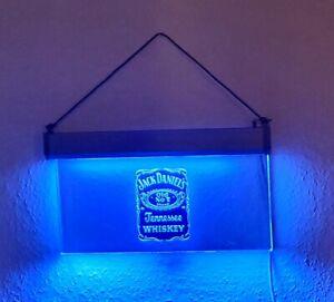 Selten! Jack Daniel's old No. 7 LED Schild /  Beleuchtung / Werbung, für Sammler