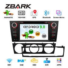 """Android 9.0 Stereo 7"""" Car Radio DVD Player GPS Navi For BMW E90/E91/E92 325 328"""