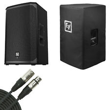 "EV Electro-Voice EKX12P EKX-12P Powered 12"" Speaker w/ Cover and XLR Cable"