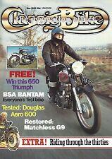 Classic Bike Magazine - Matchless G9 600cc Douglas Aero Triumph Tiger 100 Racer