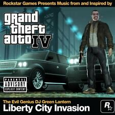 """GRAND THEFT AUTO IV"" Liberty City Invasion Radio Station Soundtrack CD (SEALED)"