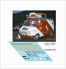 DECALS 1/43 VAN SERVICE ASSISTENZA WEST LANCIA 037 FIAT 242