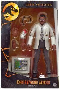 Mattel John Raymond Arnold Amber Collection Jurassic Park UK New & MISB