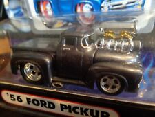 1956 FORD PICKUP GRAY MUSCLE MACHINES 1/64 NEW IN USED PACKAGE